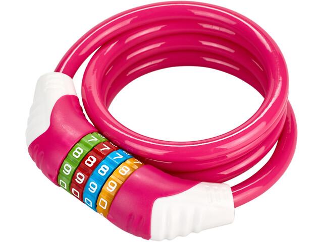 Puky KS Candado de cable Niños, pink